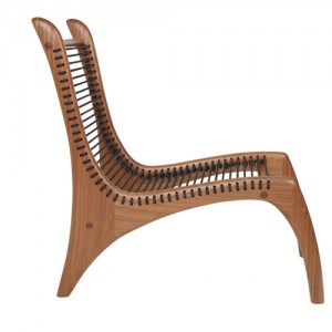 Stefan Rurak, chair, handmade, Brooklyn