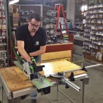 Who needs a table saw when you have the Festool work table?