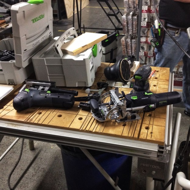 Festool Demo At Tools For Working Wood Nyc Woodworkers Guild